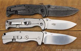 Harnds CK7210 Disguiser, Ganzo G742 and G722