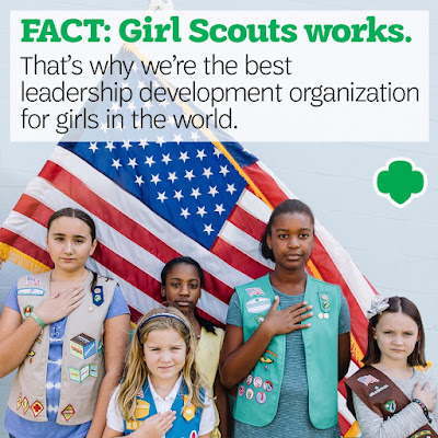 benefits of being a girl scout