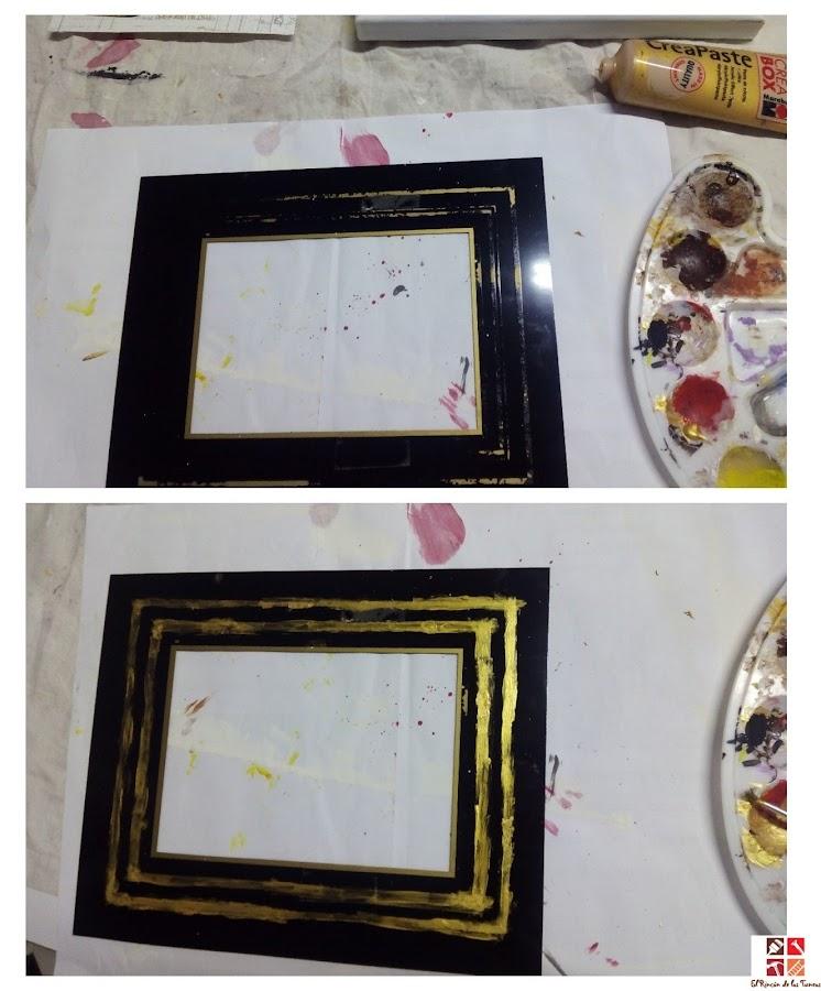 reciclar un cuadro