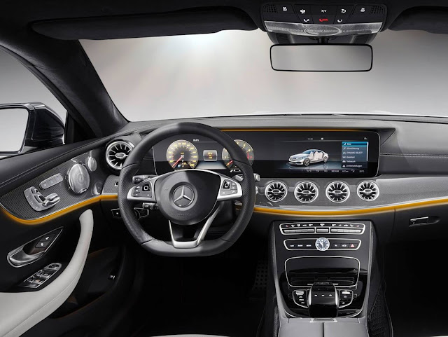 Novo Mercedes-Benz Classe E 2018 - interior