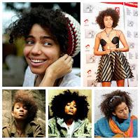 Cantora nigeriana Nneka - Cabelo Crespo - Inspiração para cabelo natural