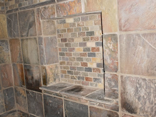 Slate in Wall Soap Box