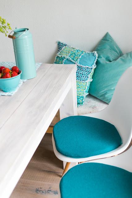 Sitzkissen für Eameschair, Pomponetti Interior