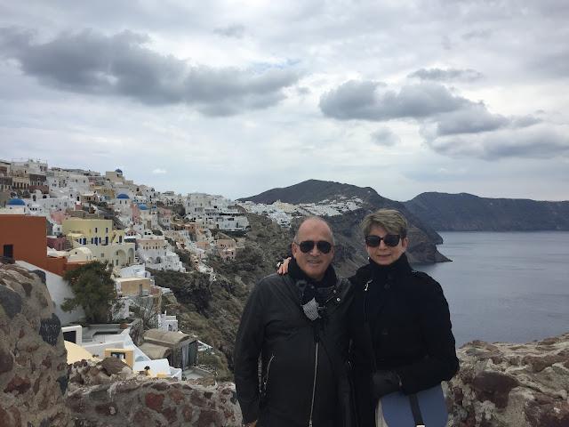 Having good time in Santorini