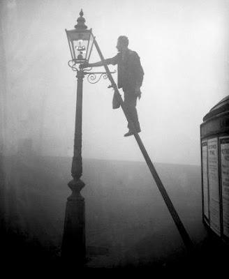 O acendedor de lampiões