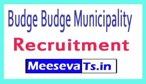 Budge Budge Municipality Recruitment