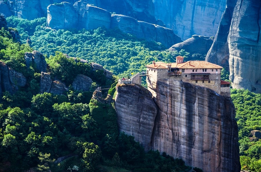 Meteora, Greece - A Truly Inspiring And Beautiful Location of Fascinating Rock Formations With Amazing Christian Orthodox Monasteries
