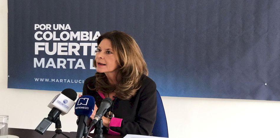 Precandidata presidencial María Lucía Ramírez denuncia la Ley Estatutaria de Garantías de Participación Ciudadana