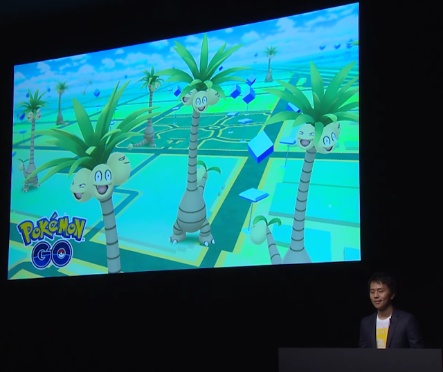 Pokémon Let's GO Alolan Exeggutor Kanto transfer announcement