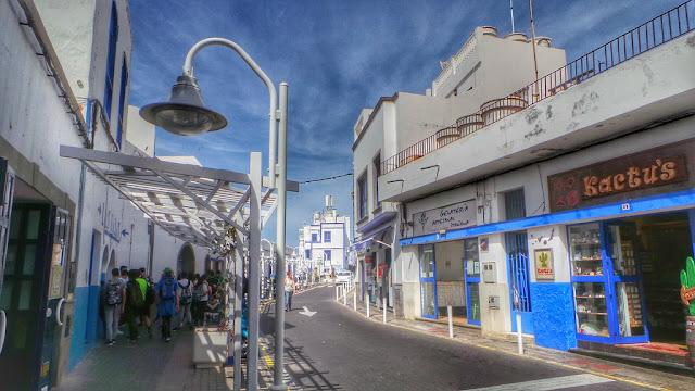 damazprowincji.blogspot.com, portowe miasteczko, gran canaria, wyspy kanaryjskie