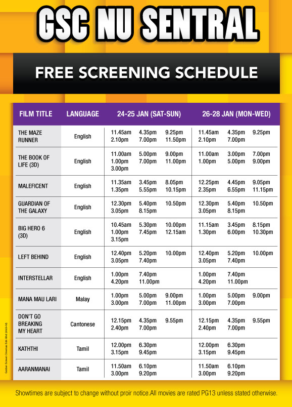 Golden Screen Cinema Nu Sentral