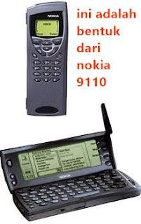 generasi kedua hp komunikator