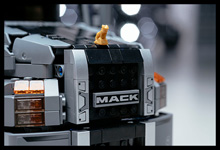 New LEGO Mack LR Model