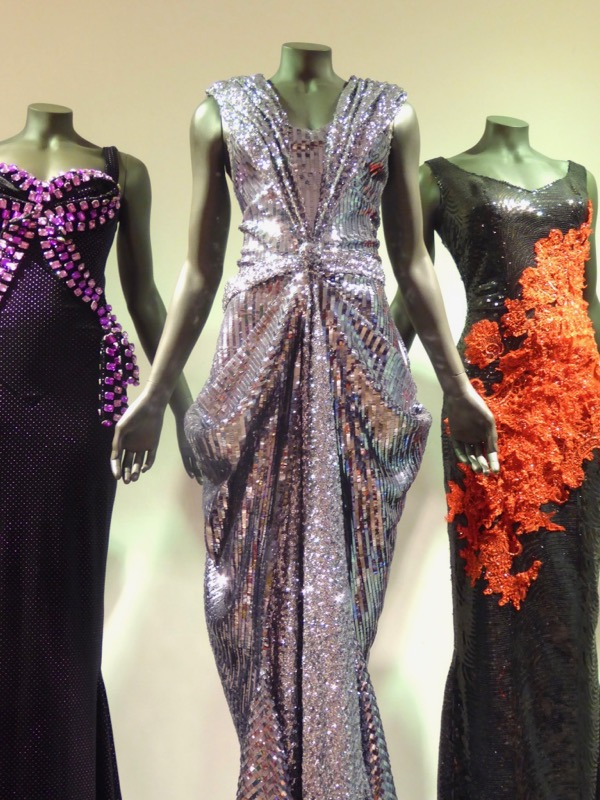 RuPauls Drag Race season 5 silver sequin gown