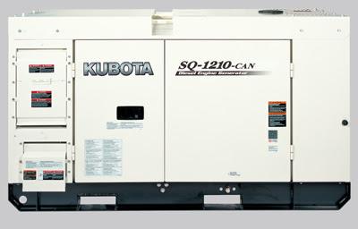 Máy phát điện Kubota 20.6kva SQ-1210-CAN