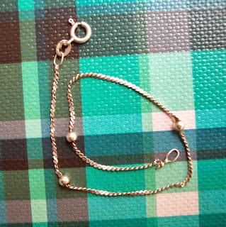 pulseira em prata 925 bolinhas