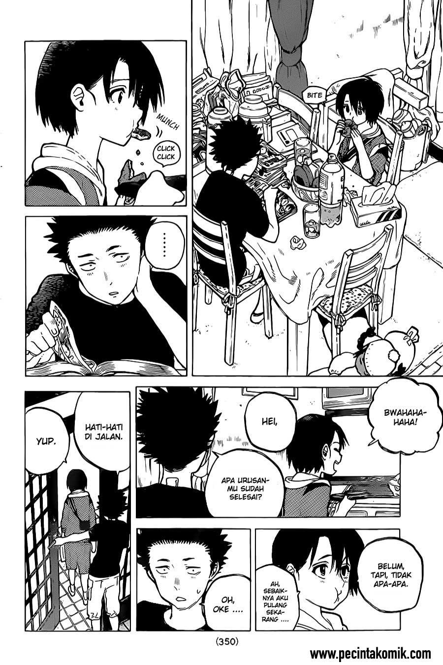 Koe no Katachi Chapter 22-5