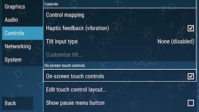 Cara Menghilangkan Tombol Control PPSSPP