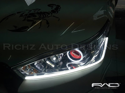 headlamp custom all new yaris 2017