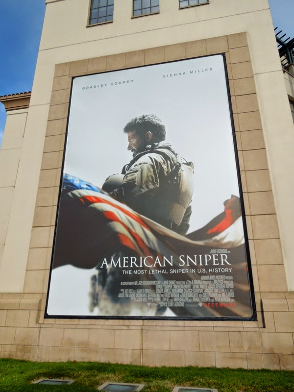 American Sniper movie billboard