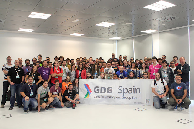 GDG Spain summit 2015, reunión de líderes organizadores de Google Developers Group españoles #gdg #event