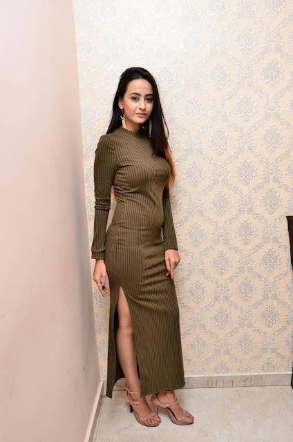Amiksha Stills At New Year Bash Curtain Raiser 2018