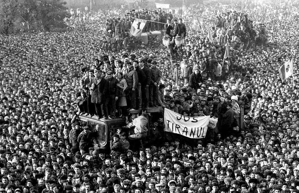 1989-es forradalom, Ceaușescu diktatúra, Domokos Géza, Ion Iliescu, Mircea Dinescu, Nicolae Ceaușescu, Románia, temesvári forradalom, Tőkés László,