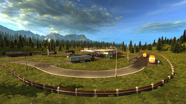 Euro Truck Simulator 2 PC Game Play