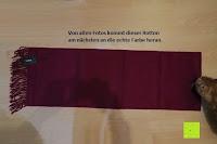 richtige Farbe: Novawo® Luxus Kaschmir und Wolle Vermischung Schal Herren Damen (8 Farben)