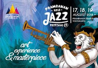 cari tiket event prambanan jazz festival di candi prambanan sleman