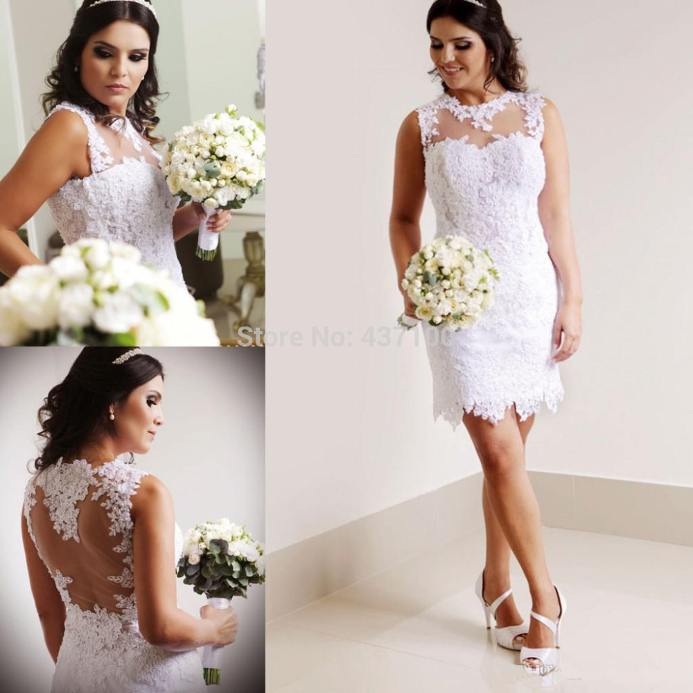 Beautiful Short Wedding Dress, Find The Perfect Gown To Suit Your ...