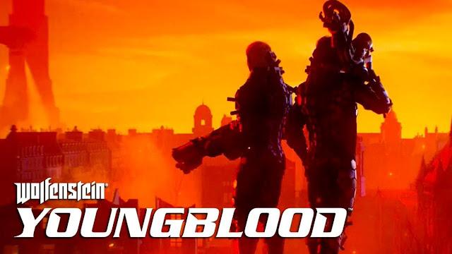 """""""Wolfenstein: Youngblood"""" Game phiêu lưu hành động 2019"""