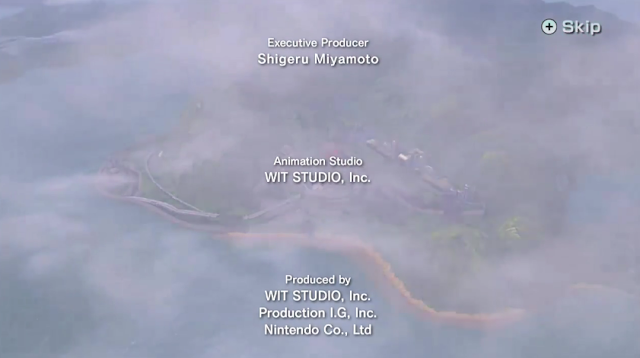 Star Fox Zero The Battle Begins Credits Shigeru Miyamoto executive producer Nintendo WIT Studio Production IG