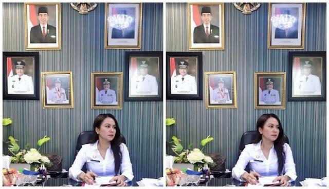 Ini PNS Cantik Sulawesi Utara yang Ramai Dibicarakan, Bisa Bikin Pegawai Pria Betah di Kantor