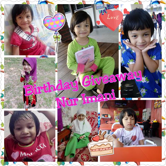 Birthday Giveaway Nur Imani