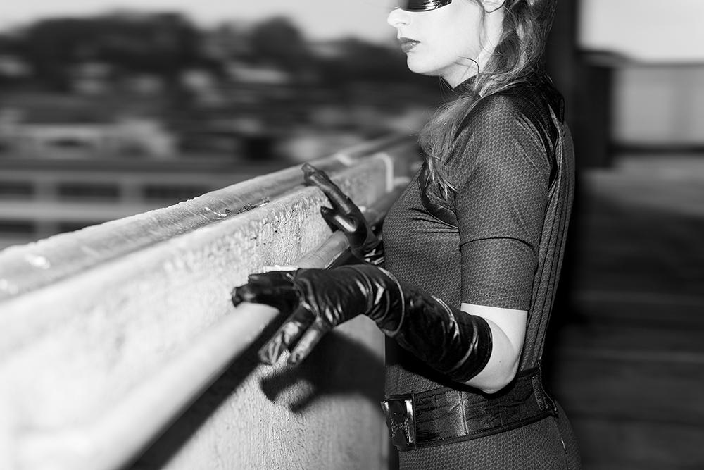 Batgirl Catwoman Superhelden Kostüme