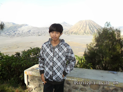 gunung bromo kawasan sebelum padang pasir