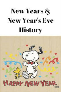 Happy New Year & Some New Year's Eve History by Georgie Lee