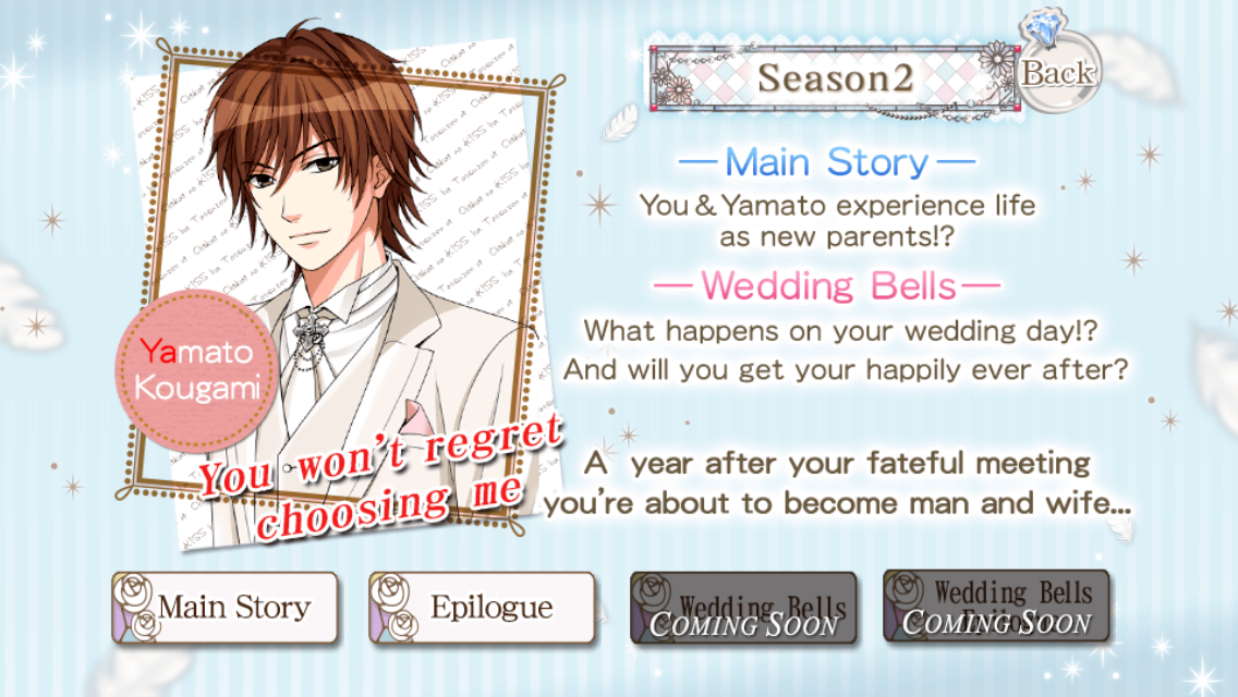 Dreamy Days In West Tokyo Main Page Story Epilogue Sequel Season 2 3 Years Later My Forged Wedding Party Yamato Kougami 1