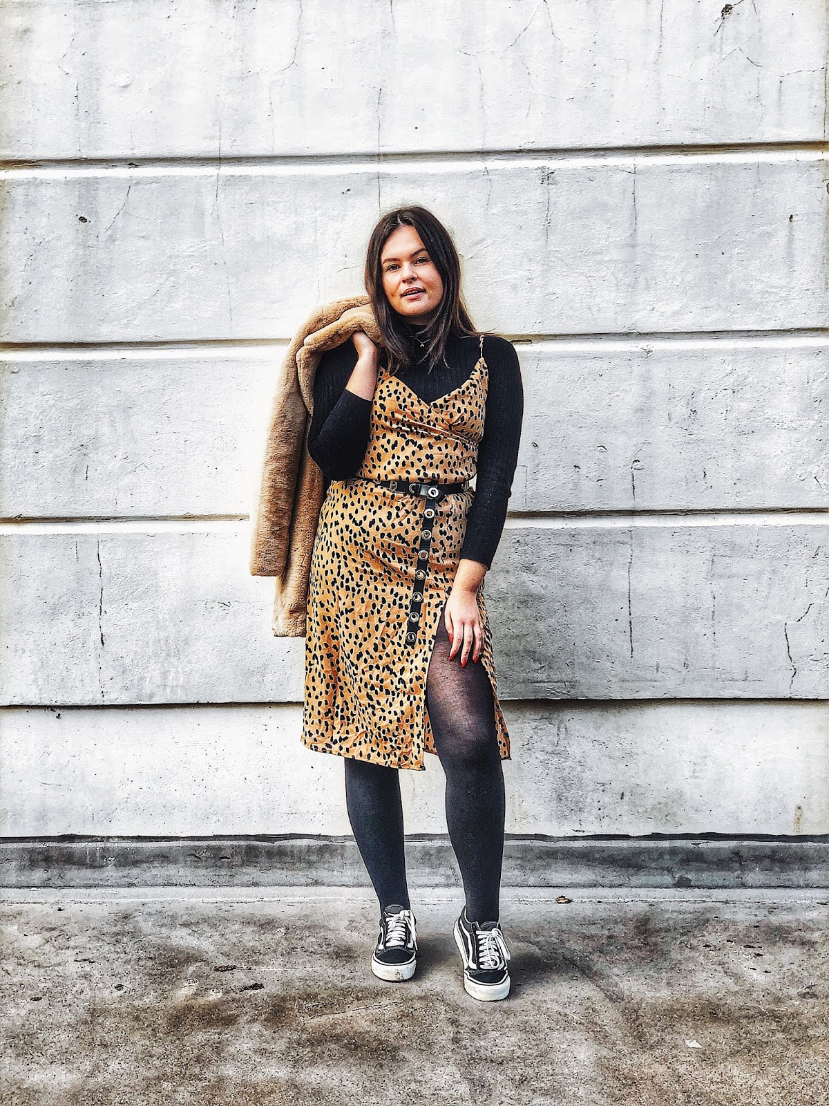 naomi genes x boohoo, animal print wrap dress boohoo, boohoo style, uk fashion blogger, how blogging has changed, blogging in 2012, how to wear leopard print