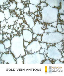 Gold Vein Antique Mirror