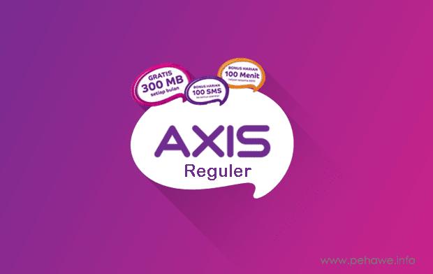 Cara Temnbak Tarif Axis Reguler