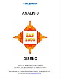 Diseño y análisis por medio de elementos finitos con SAP2000