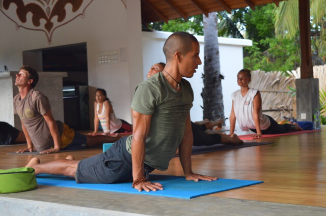 Yoga Class for Surfers at Arugam Bay