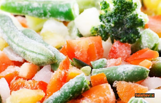 Sayuran dan Buah Dibekukan Masih Sehat?