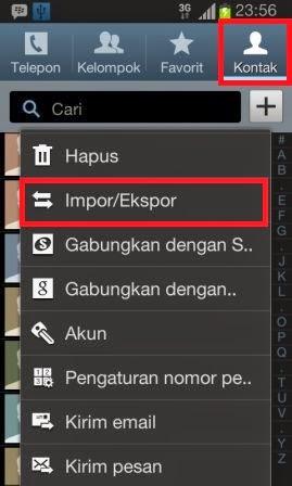 Cara Back Up Data Nomor Kontak HP Android
