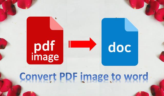 cara mudah convert pdf image ke word agar bisa di edit  + video
