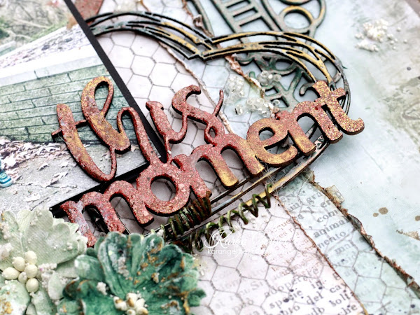 """""""Love This Moment"""" - 2 Crafty Chipboard"""