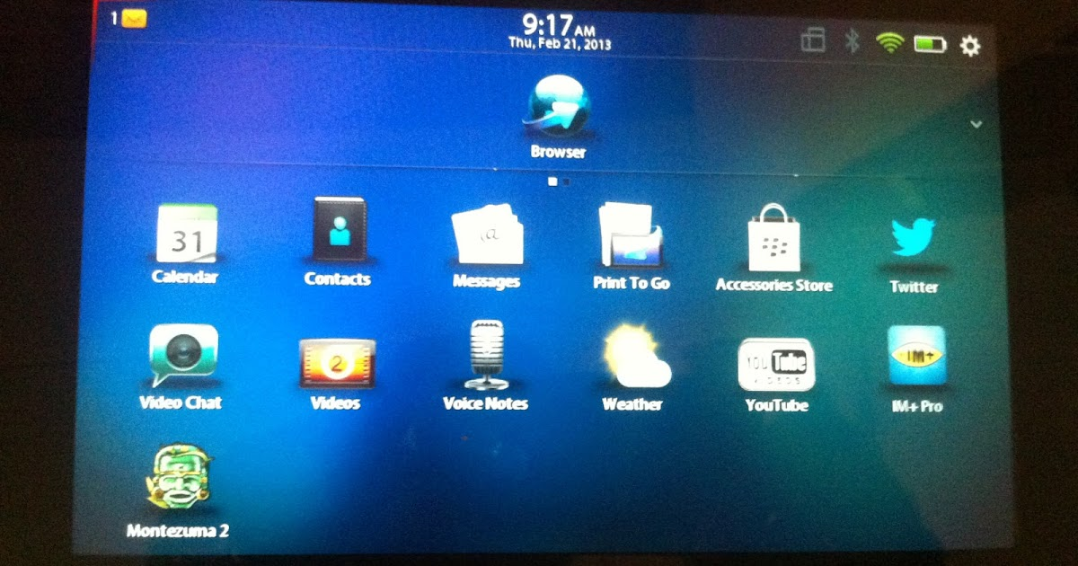 The Blackberry PlayBook Is Left with Android Apps