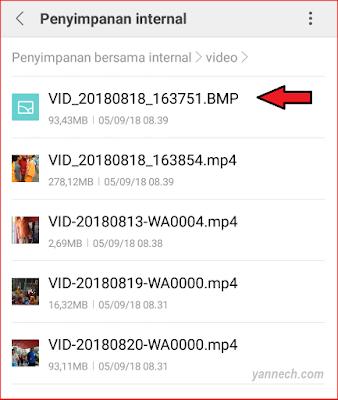 Cara Menyembunyikan Video Android Agar Tidak Bisa Dibuka